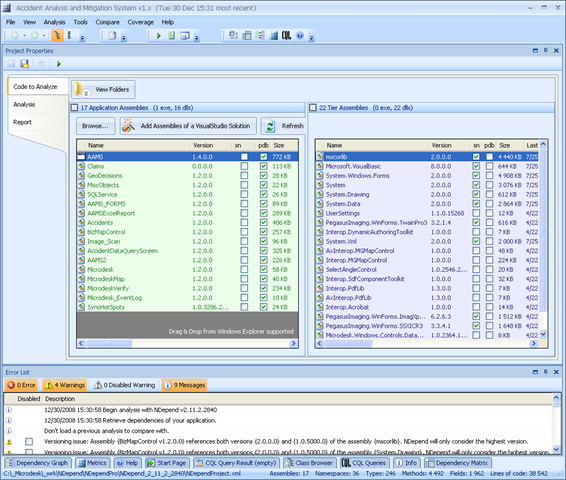 NDepend 2.x Review: HOLY CRAP! THIS THING IS FREAKIN' AWESOME!!!